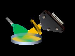 Fluorescence spectroscopy setup
