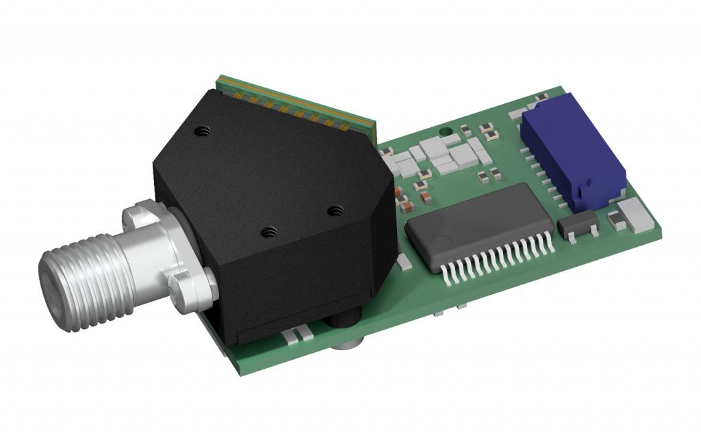 Ultra compact VIS spectrometer for fluorescence