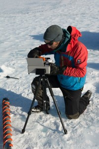 Lake Untersee, Antarctica. Klemens Weisleitner, University of Innsbruck